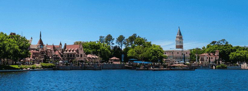 Disney Epcot lake