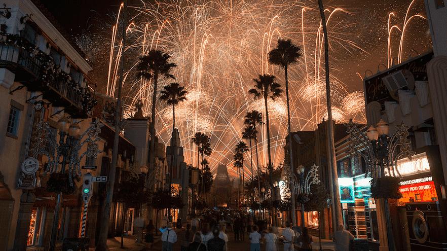 Disney Park by night