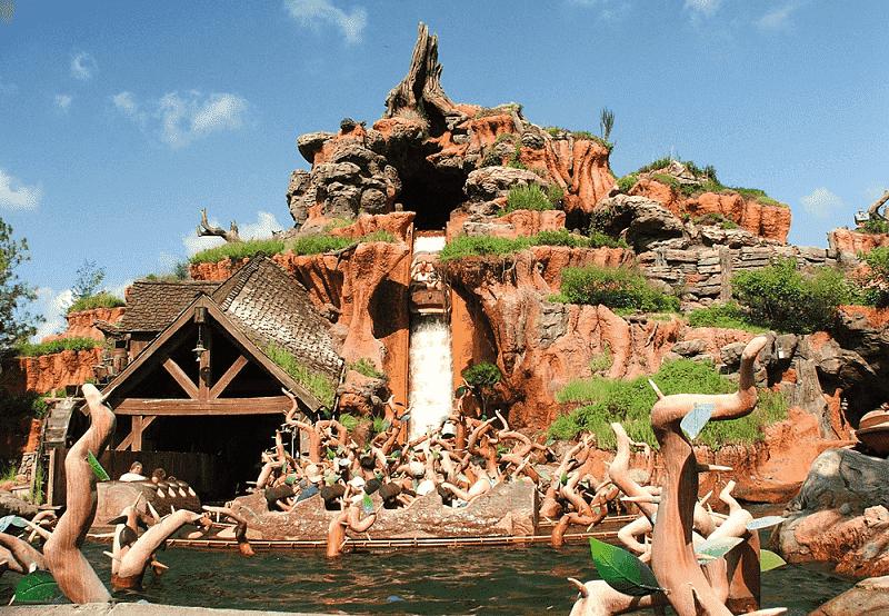 Disney Magic Kingdom attraction