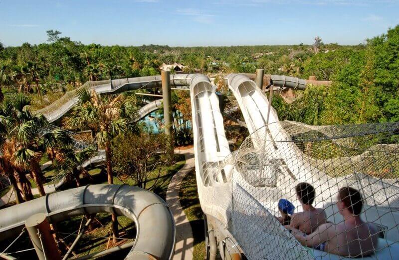 Disney Typhoon Lagoon coaster