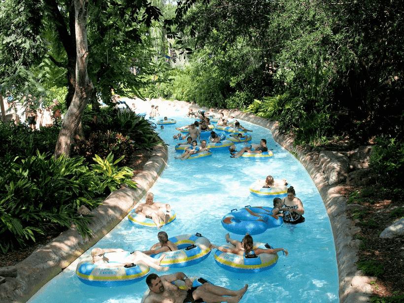 Disney Typhoon Lagoon floaters