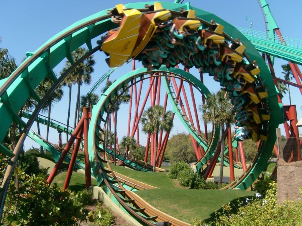 Busch Gardens Park in Tampa