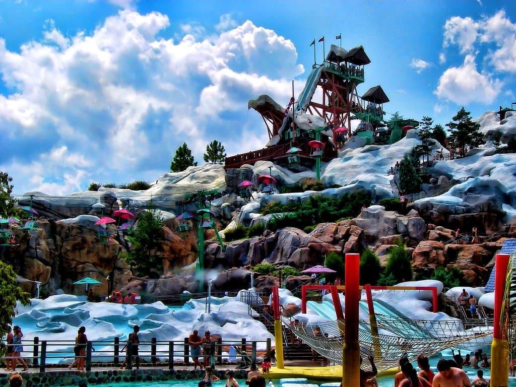 Disney Blizzard Beach water park