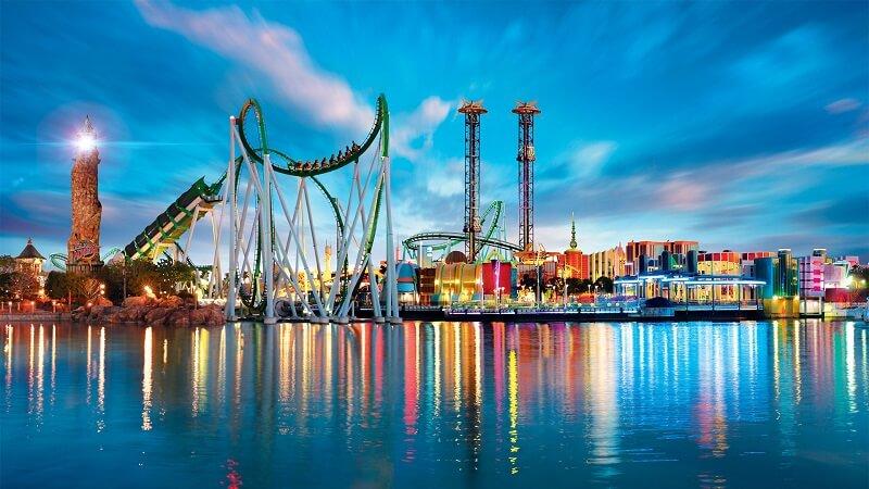 Universal park in Orlando