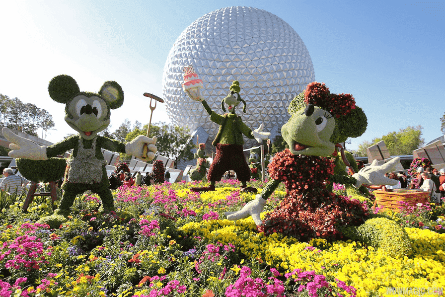 Spring and fall in Orlando