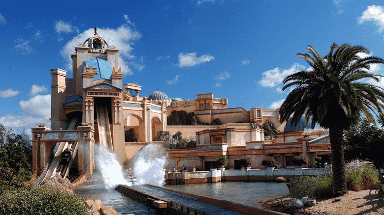 Journey to Atlantis at SeaWorld