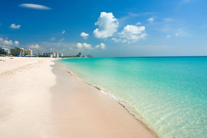 Haulover Beach in Miami