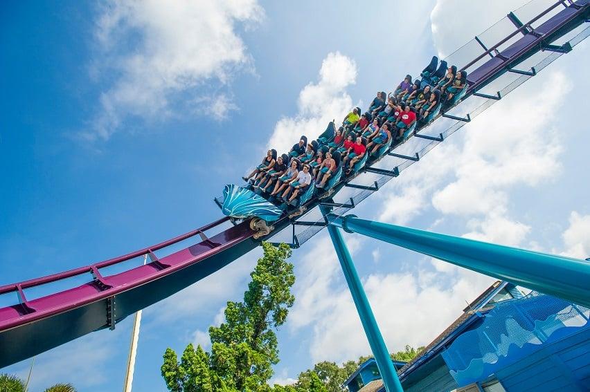 Mako Rollercoaster at SeaWorld Orlando