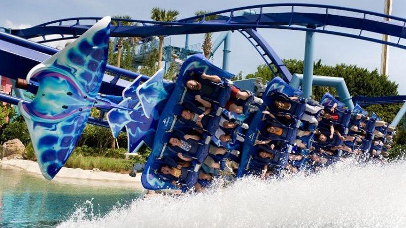 SeaWorld theme park in Orlando