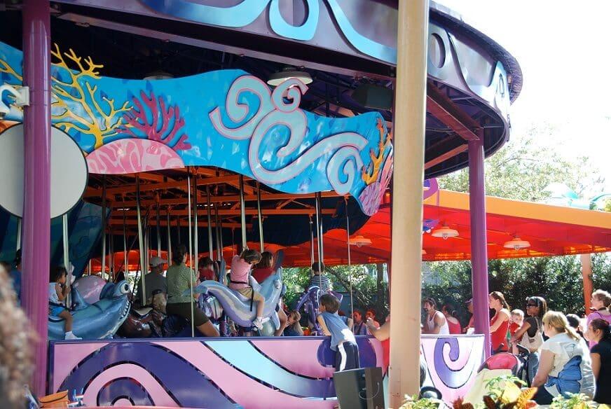 Sea Carousel at SeaWorld