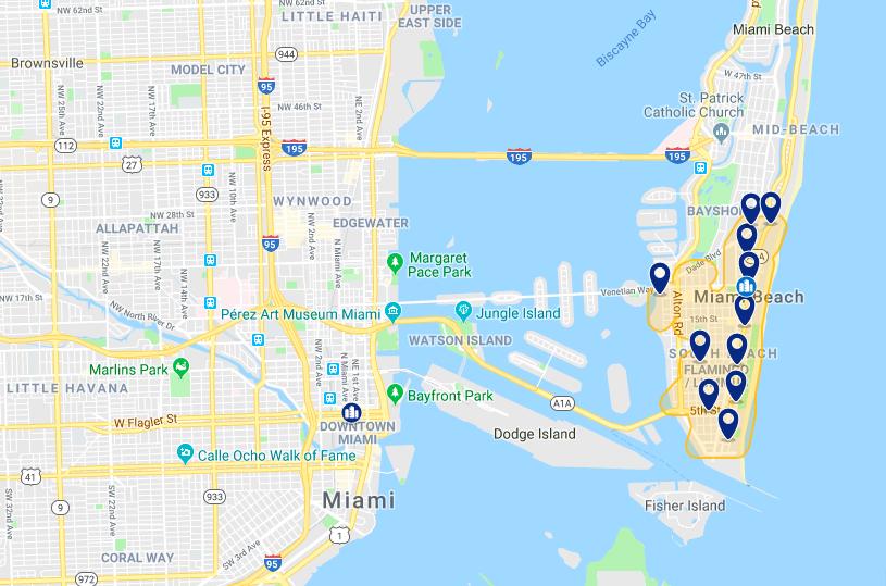 Best hotels at Miami Beach