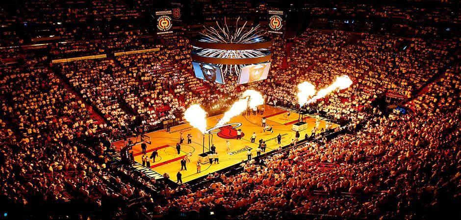 Basketball game in Florida