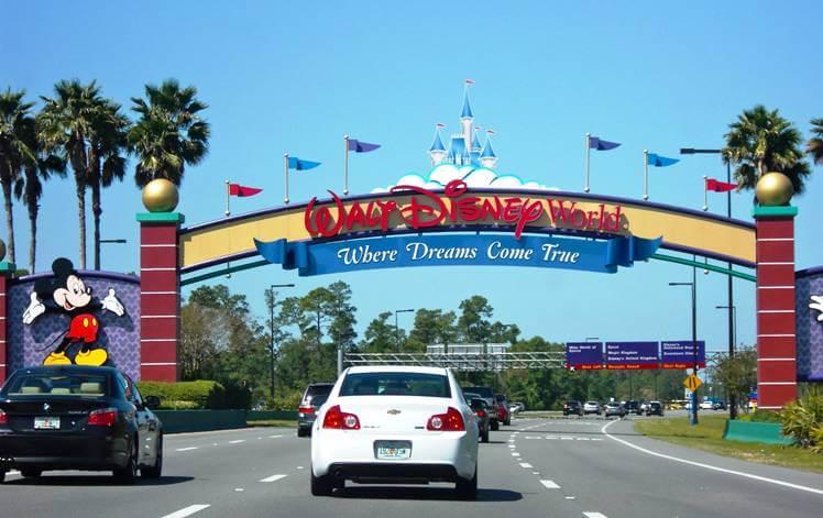 Disney Entrance