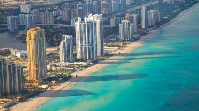 How much does the average trip to Miami cost?