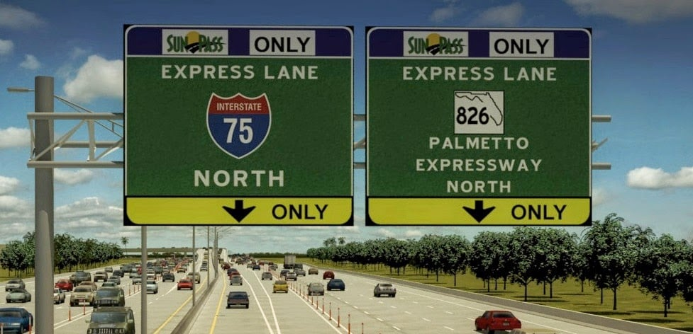 Sunpass, tolls and express lanes in Miami and Orlando