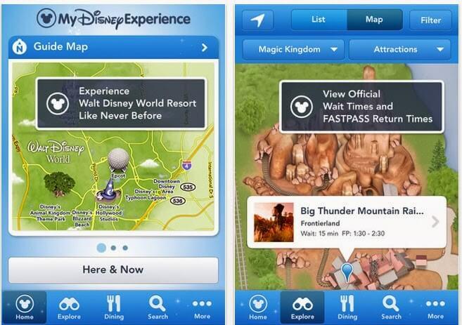 Disney app for cell phones
