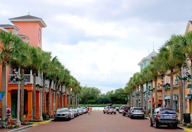 Celebration Town Center in Orlando