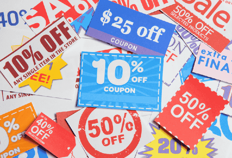 Discount coupons