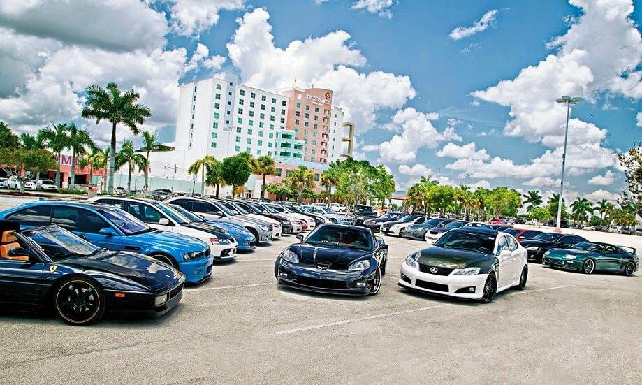 Cars in Miami