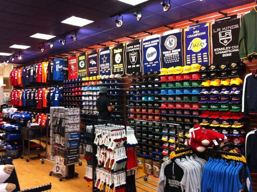 Sports products in Miami