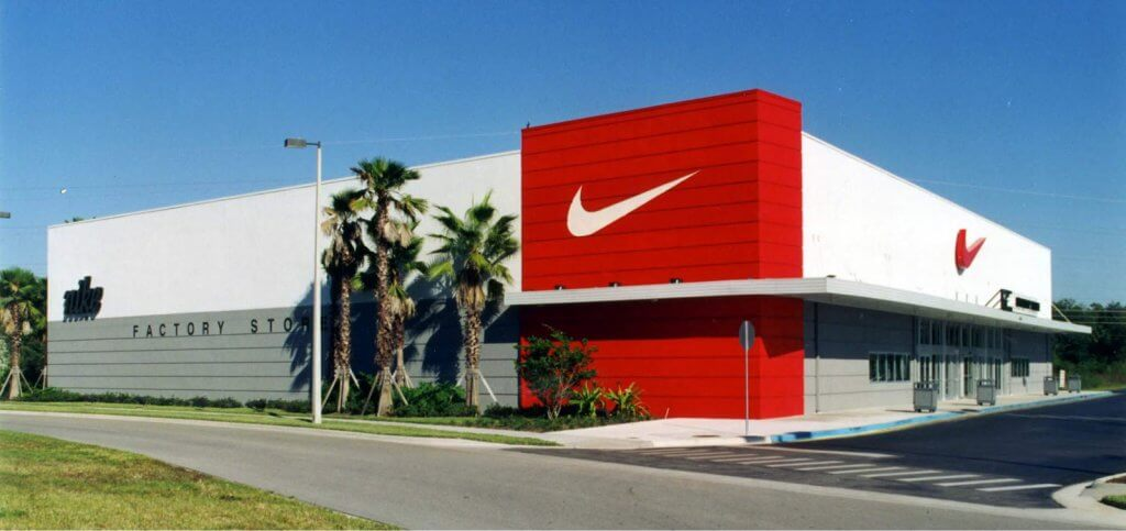 Nike store in Miami
