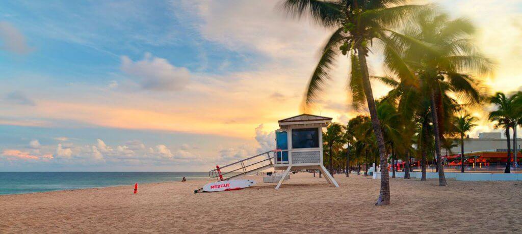 Fort Lauderdale city, near Miami