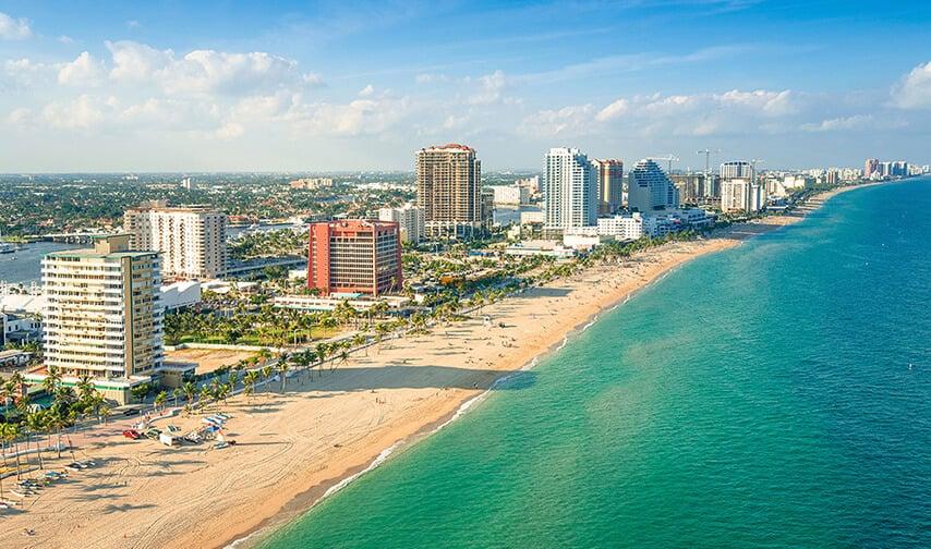 Fort Lauderdale in Florida