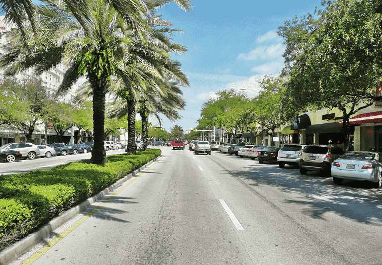 Coral Gables in Florida