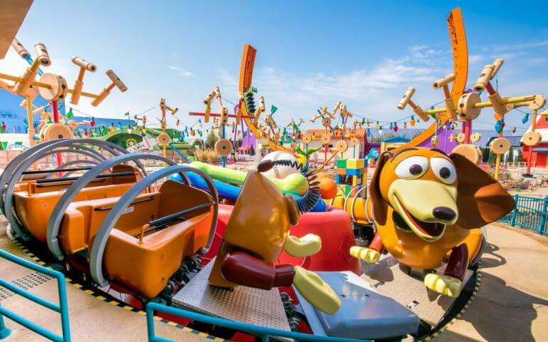 Toy Story Park at Orlando