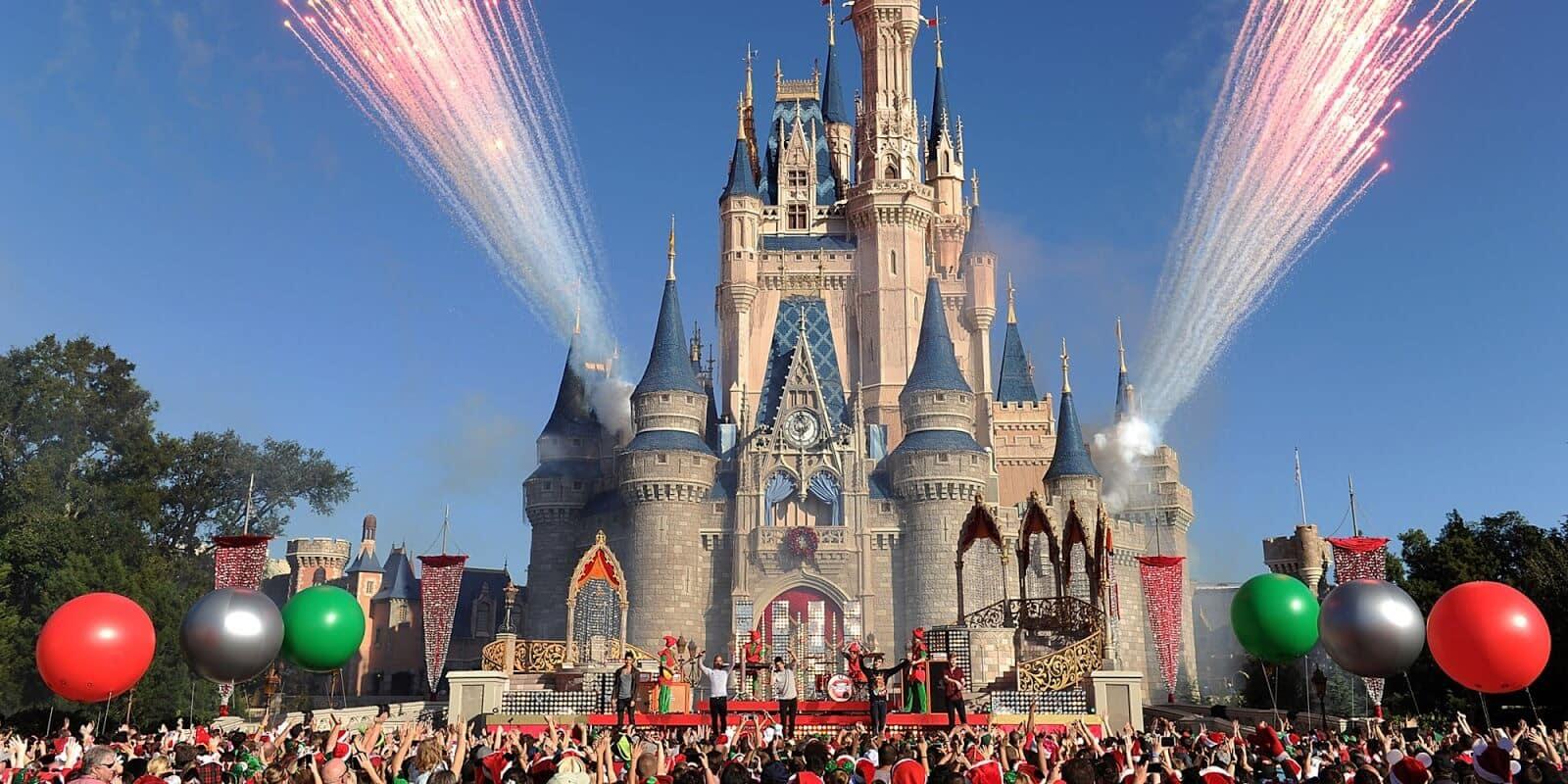 Disney Magic Kingdom theme park in Orlando