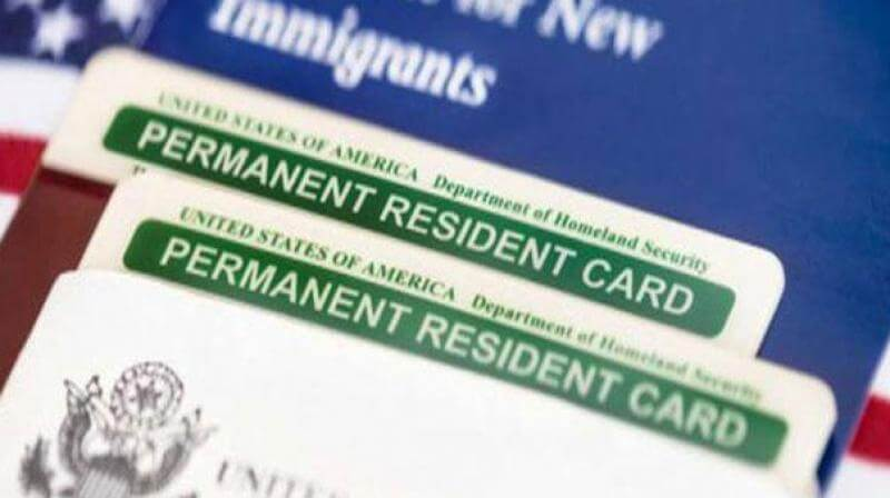 Green Card - US document