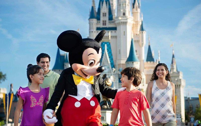 Family at Disney Orlando