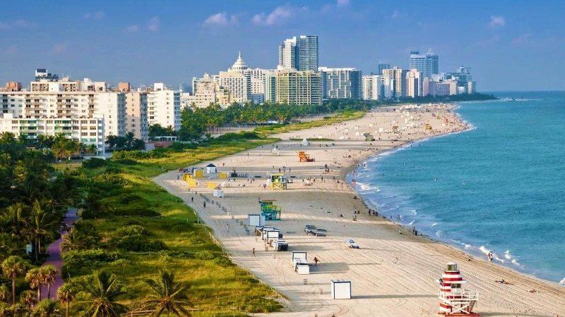 Miami tourist map
