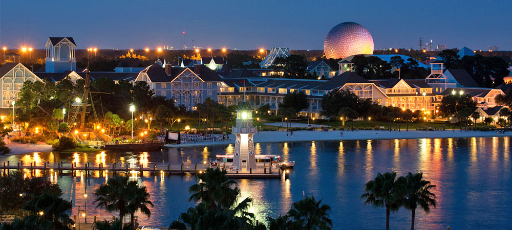Orlando tourist map