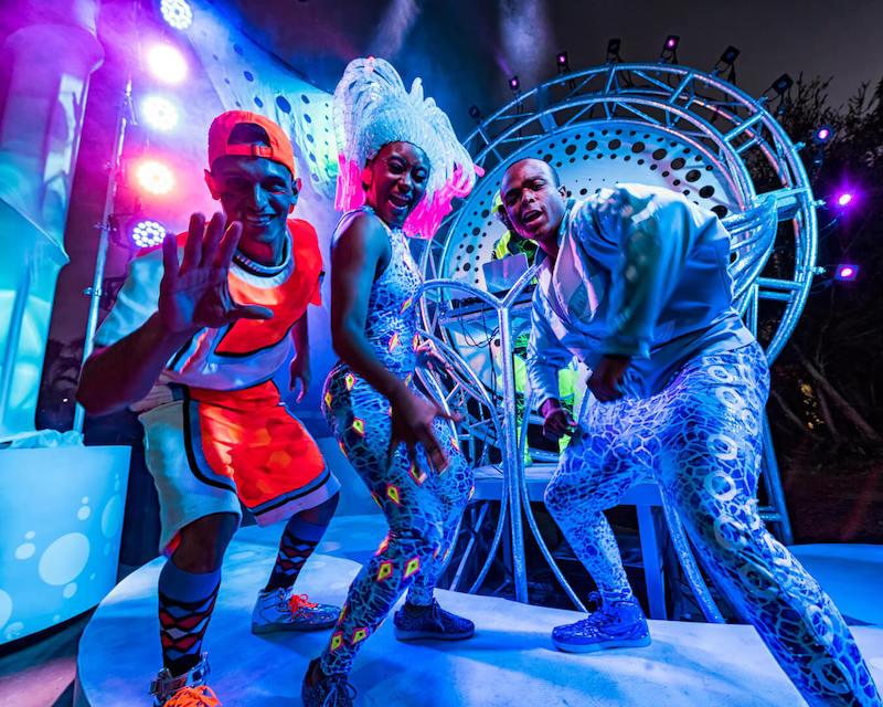 Electric Ocean: summer nights at SeaWorld