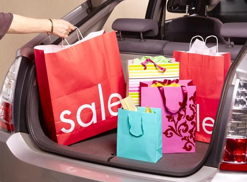Shopping bags in Orlando