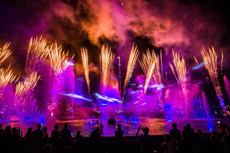 Electric Ocean at SeaWorld