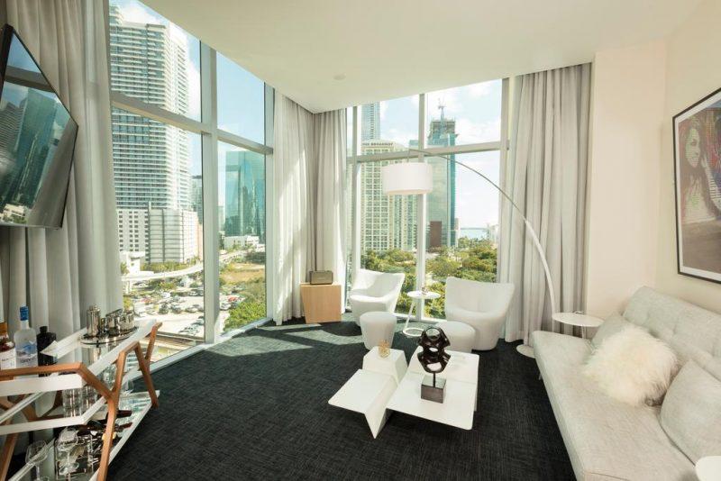 Hotel room in Miami